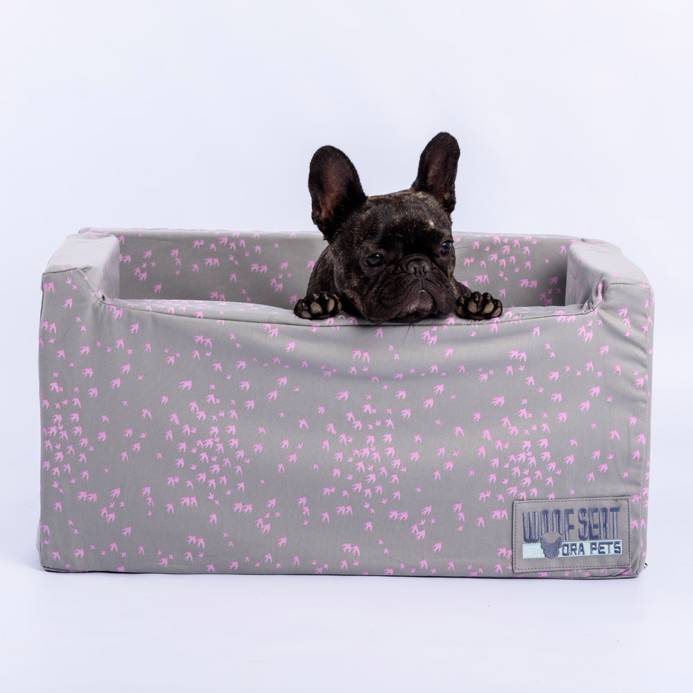 Ora Pets Woof Seat Deluxe Lavender Swallows