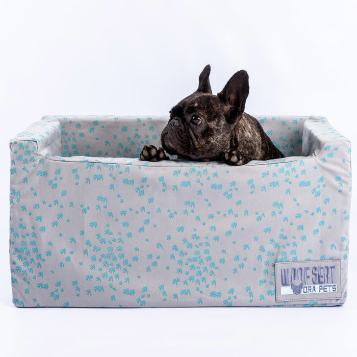 Ora Pets Woof Seat Deluxe Turquoise Swallows
