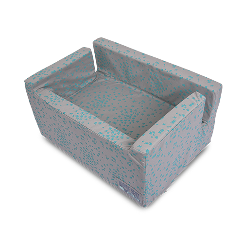 Ora Pets Woof Seat Deluxe Swallow Turquoise