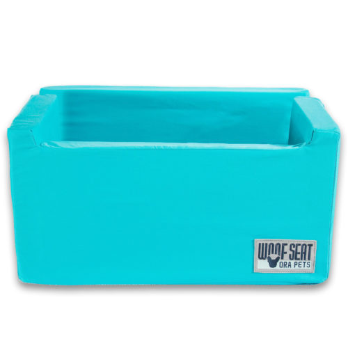 Ora Pets Woof Seat Deluxe Turquoise
