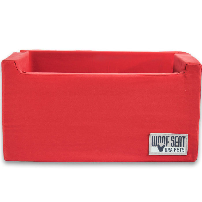 Ora Pets Woof Seat Deluxe Red