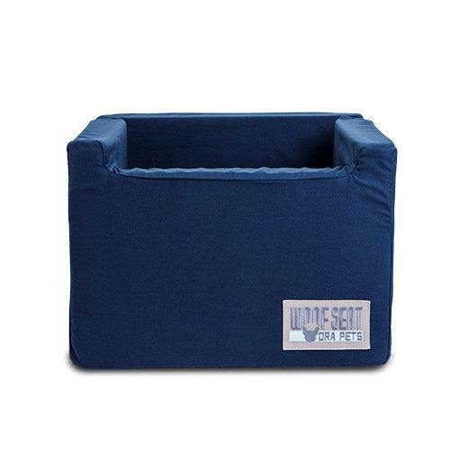Ora Pets Woof Seat Original Navy Blue