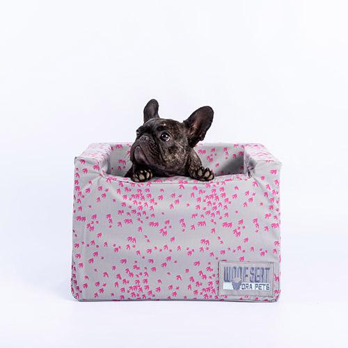 Ora Pets Woof Seat Original Magenta Swallows