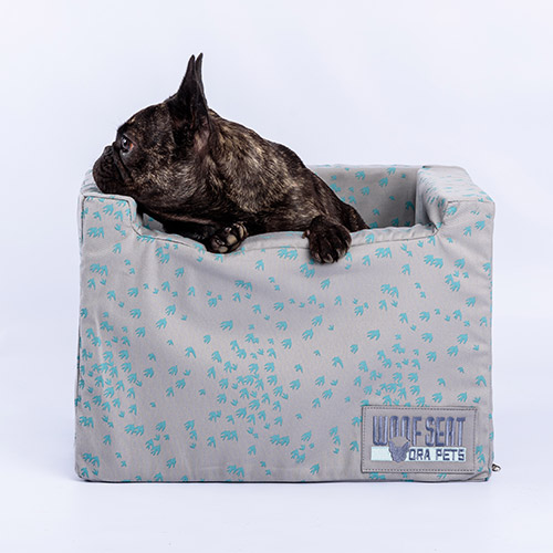 Ora Pets Woof Seat Original Turquoise Swallows
