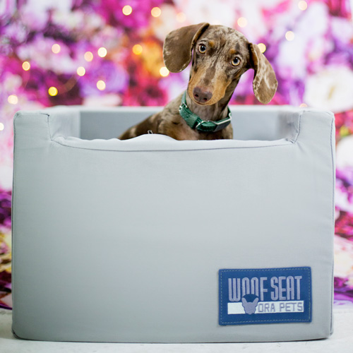 Ora Pets Woof Seat Original Light Grey
