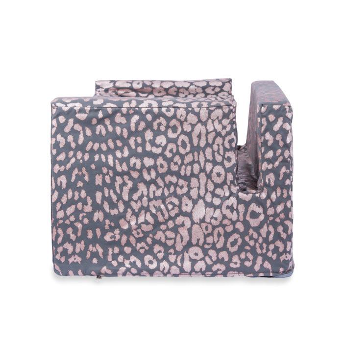 Woof Seat Deluxe - Rose Metallic Animal Print
