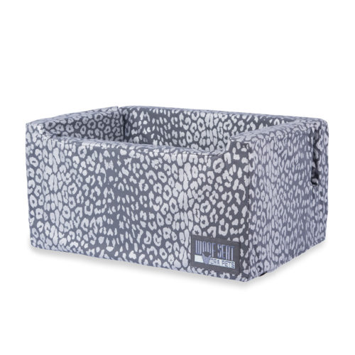 Woof Seat Deluxe - Silver Metallic Animal Print