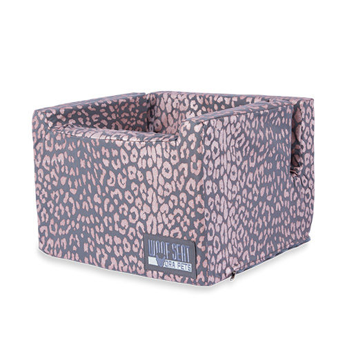 Woof Seat Original - Rose Metallic Animal Print